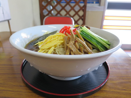 食堂 福龍 冷やし中華W¥900