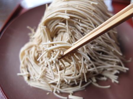 小布施堂本店 朱雀 栗麺アップ