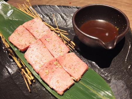 焼肉モランボン 市役所前店 やめられない厚切り上タン塩¥2030
