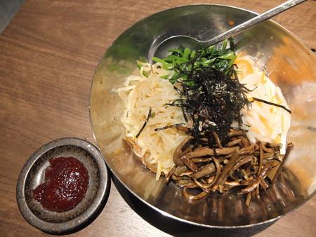焼肉モランボン 市役所前店 ビビンパ¥648