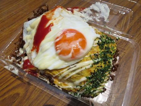 えんま市2016 堺 宝寿堂 肉かす焼きそば(オム仕様)¥500