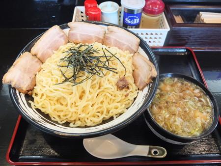 らぁめん古丹 つけ麺(冷もり、特盛)ちゃーしゅうトッピング¥1020