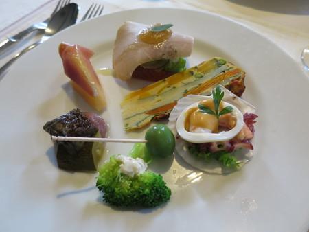 カーザ サンヴィート おすすめコース(肉) 前菜 アップ