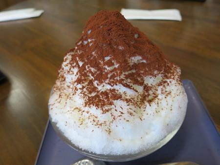 佐藤菓子舗 かき氷 ティラミス¥700