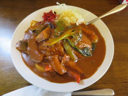待夢里 野菜カレー辛さZ¥1050