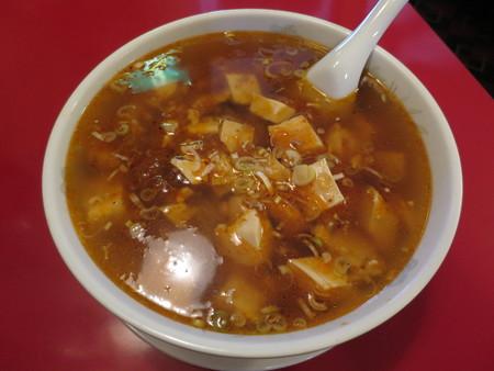 じょうえつバル街2016 王華飯店 麻婆豆腐湯麺
