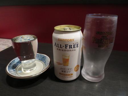 じょうえつバル街2016 季楽 山間(+¥100)、ノンアル・ビール