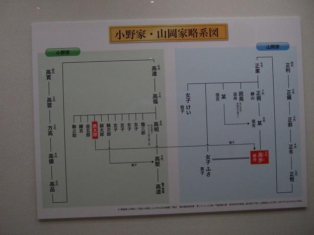 Photos: 山岡鉄舟家系図