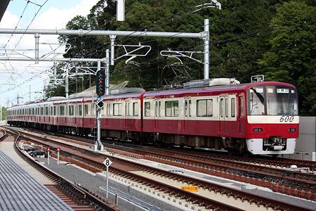 京急 600形[成田スカイアクセス線 成田湯川駅]