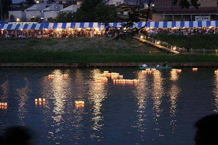 2010.08.21(SAT)/八千代ふるさと親子祭/灯篭流し