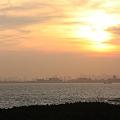 Photos: 2010/08/29(SUN) 東京湾に沈む夕日(千葉市美浜区)