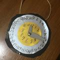 Photos: 時計風カレンダー