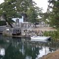 高松城の海水のお堀