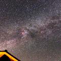 Photos: カシオペヤ座からケフェウス座を通る光の帯が見えますか?IMG_9326