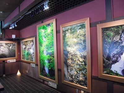 8月12日「面河茶屋画廊」