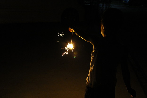 小さな花火1