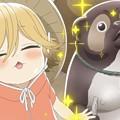Photos: タヌキがアニメになっとる
