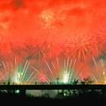 赤色に染まる空