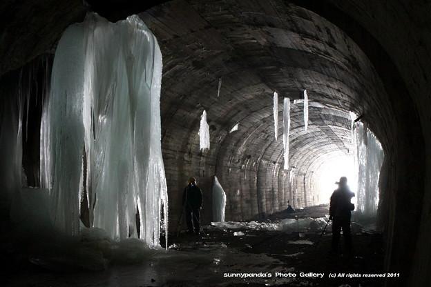 厳寒廃隧道