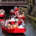 写真: さわら雛舟祭り
