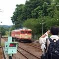 Photos: 撮り鉄を撮る。(いすみ鉄道 イタリアンランチクルーズ2014)
