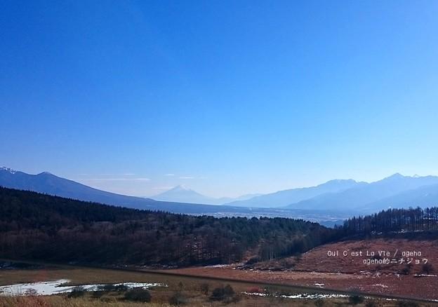 Photos: 新年長野富士。