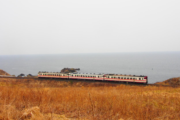 写真: 八戸線 鮫~陸奥白浜