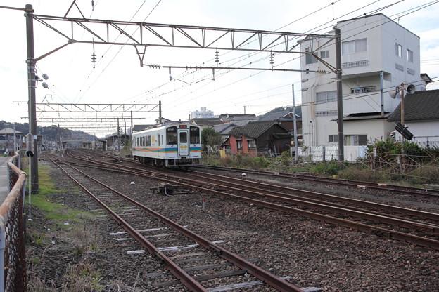 おれんじ鉄道水俣駅到着