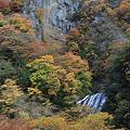 生瀬富士と袋田滝