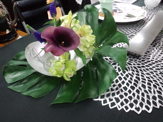 エコ茶会のツーコイン茶席にて。設えが素敵でした。