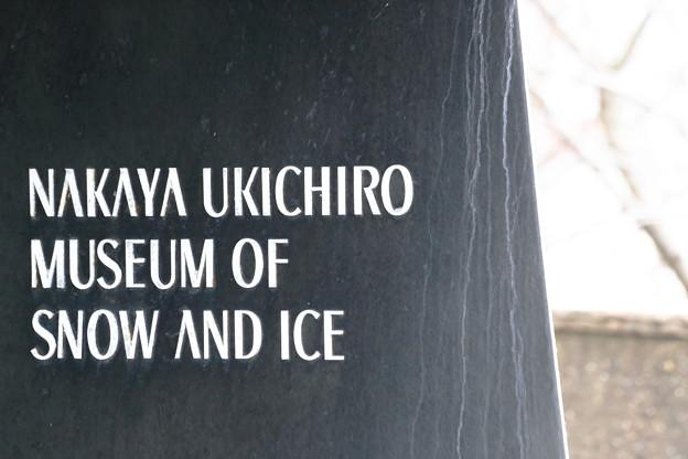写真: 雪の科学館