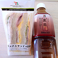 写真: 20120604朝食