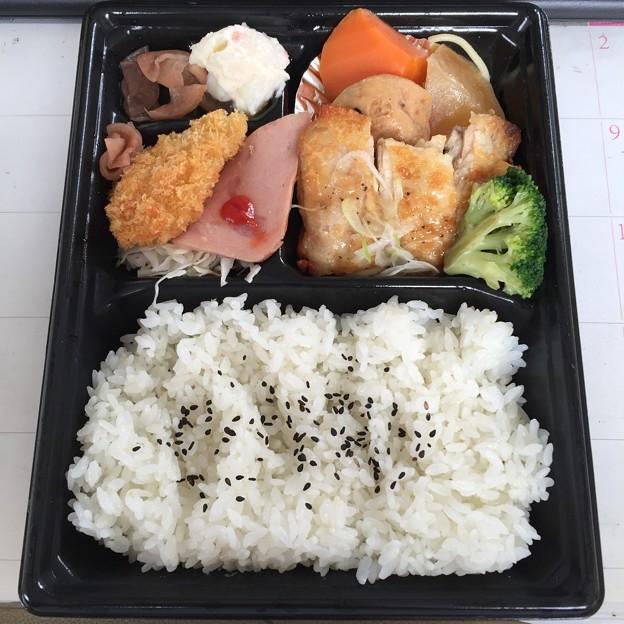 写真: 20160909昼食 ほっともっと日替わり金曜日