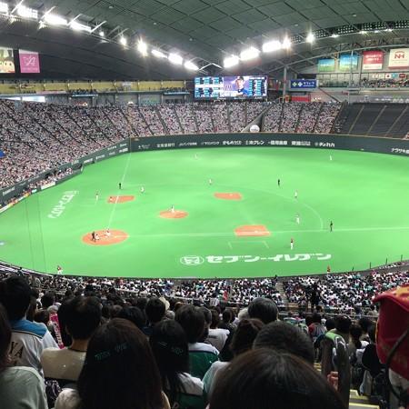 20160924札幌ドーム