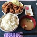 写真: 笑琉 ザンギ定食