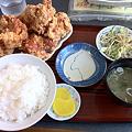 写真: 布袋 ザンギ定食