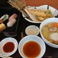 Photos: 一幸さんの寿司天ぷら柚子塩うどん膳