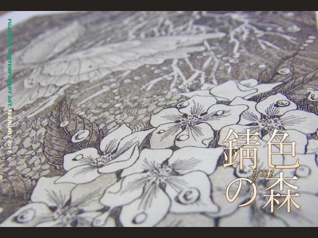 写真: Yui 銅版画新作展『錆色の森』