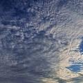 写真: 空と雲