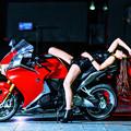 写真: Beauty and the Bike