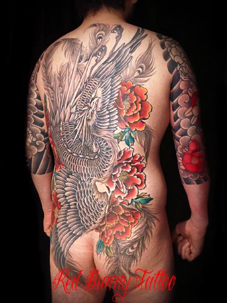 鳳凰 刺青 タトゥーデザイン・画像の紹介 tattoo 東京