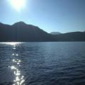 Photos: 強い日差しの榛名湖