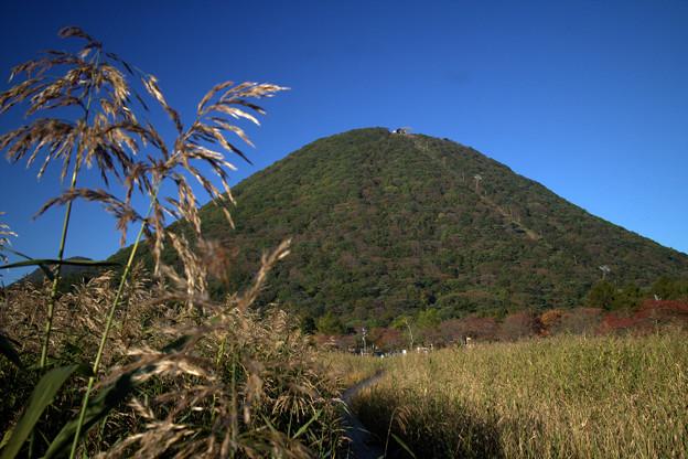 青空と榛名富士