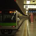 京王新線新宿駅5番線 都営10-470F各停本八幡行き前方確認