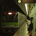 Photos: 都営新宿線市ヶ谷駅2番線 都営10-320F急行大島行き進入