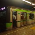 都営新宿線森下駅2番線 都営10-520F急行本八幡行き停止位置よし