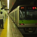 都営新宿線市ヶ谷駅1番線 都営10-400F急行笹塚行きベル扱い