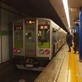 Photos: 都営新宿線岩本町駅1番線 都営10-0F各停八幡山行き