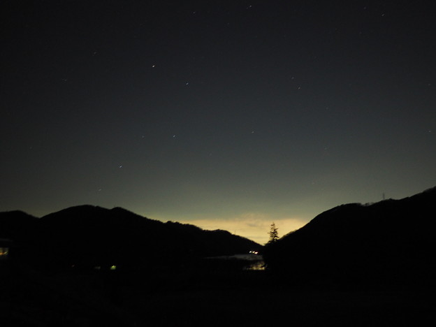 宮ケ瀬湖畔より