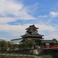 Photos: 清州城と秋の空